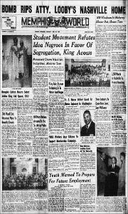 Memphis World, 1960 April 23rd