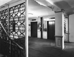 Ambassador Hotel, elevator lobby, north wing
