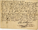 Affidavit Confirming that Nelly Scott and her Children, Robert, Samuel, and John, Were Freeborn, October 1822