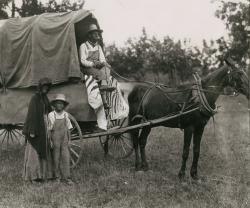 1923 Centennial Illustrating Arrival of Runaway Slaves