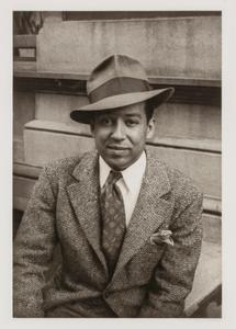 Langston Hughes, from the portfolio 'O, Write My Name': American Portraits, Harlem Heroes