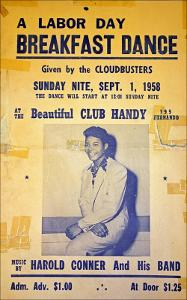 1958 Club Handy Poster - Labor Day Breakfast Dance