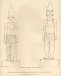 Restoration of the two colossal statues in the island of Argo