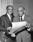 Julius Epstein receives Ralph Bunche award
