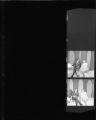 Set of negatives by Clinton Wright of Leola Armstrong at Bob Bailey's TV show, 1968