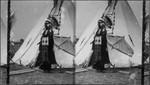 """""""Black Horse"""" a Pawnee Chieftain, World's Fair, 1904"""