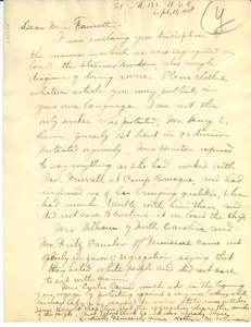 Letter from Kathryn M. Johnson to Jessie Redmon Fauset