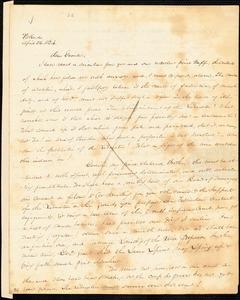 Letter from James F. Otis, Portland, [Maine], to William Lloyd Garrison, 1834 April 26