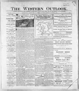 The Western Outlook. (San Francisco, Oakland and Los Angeles, Calif.), Vol. 21, No. 7, Ed. 1 Saturday, November 7, 1914 The Western Outlook