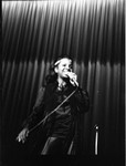 Gladys Knight performing at the Shrine Auditorium, Los Angeles, 1970