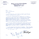 Letter to Mayor John Collins from Representative Bob Casey