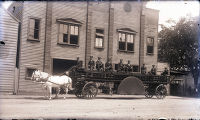 Charleston - Miscellaneous - Horse-Drawn Fire Engine