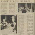 BLACK SYMPOSIUM HELD