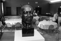 AGGS: Afro American Center, Martin Luther King Bust