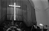 John Lewis speaking at Brown Chapel in Selma, Alabama, during the annual commemoration of the Selma-to-Montgomery March.