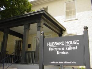 Lake Erie Coastal Ohio Trail - Hubbard House Underground Railroad Terminus