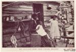 The log-cabin home near Labadie, Missouri