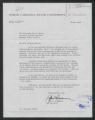 Letter: John T. Caldwell to Gov. Dan K. Moore regarding Dr. Leonard Hausman, May 16, 1968