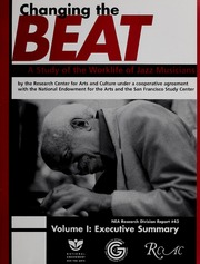 Changing the beat : a study of the worklife of jazz musicians, v.1