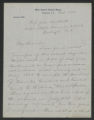 General Correspondence of the Director, October 1908