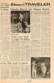 Arkansas Traveler, December 18, 1962; Pickets March for Negro Rights: 'Students for Freedom' Protest Against UA's Alleged Housing Discrimination; Arkansas traveler (Fayetteville, Ark.); Traveler
