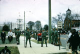 National Guardsmen on the corner of Dexter Avenue and Hull Street in front of the Capitol during the Selma to Montgomery March.