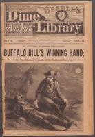 Thumbnail for Buffalo Bill's winning hand, or, The masked woman of the Colorado Canyon