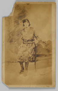 Thumbnail for Photographic postcard of a woman