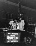 Lionel Hampton outside Club Alabam