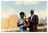 Dedication of B.T. Harvey Stadium, October 27, 1984