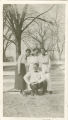 Black Faculty, 1919-1920 (Standing, Lucy Maxey, Blanche Hudson, Mary Moore. Kneeling, Joseph Charles Penn)