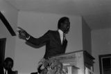 Thumbnail for Thomas Gilmore speaking to an audience at First Baptist Church in Eutaw, Alabama.