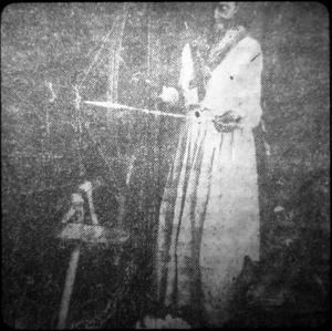 Woman Spinning Thread, Harrison County