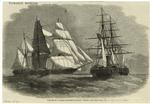 """Capture Of A Large Slave-Ship By H.M.S. """"Pluto."""""""