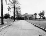 Ambassador Hotel and The Cocoanut Grove, facing south