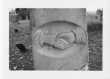 Thumbnail for Alexandria Cemeteries Historic District: clasped hands tombstone