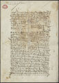 C?dula containing ordinances regulating repartimientos, tax collection, and the treatment of Indians in New Spain