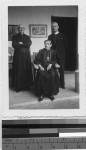 Bishop Montenegro, Father Yalguera and Father Allie, MM, Coban, Guatemala, ca. 1943