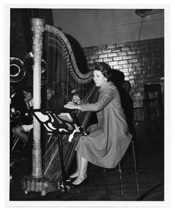 Harpist Ariele Hall