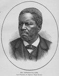Rev. Emperor Williams, Vice President of Orphans' Home Society