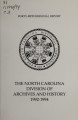 Biennial report of the North Carolina Division of Archives and History [1992-1994]
