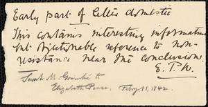 Letter from Sarah Moore Grimkè, Belleville, [New Jersey], to Elizabeth Pease Nichol, 1842 February 11