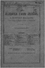 1879-06: Alabama Farm Journal, Auburn, Alabama, Volume 2, Issue 3