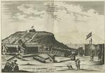 Het Fort Nassou van Binnen, met Oranje, op't Eilant Goeree