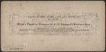 Niblo's Theatre, passage to A.T. Stewart's private box