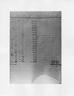 Mississippi State Sovereignty Commission image of a page from a handwritten ledger listing receipts and their dates, Mississippi, 1953