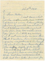 Letter from John E. Hall at the East Alabama Male College in Auburn, Alabama, to his father, Bolling Hall.