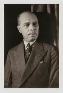 James Weldon Johnson, from the portfolio 'O, Write My Name': American Portraits, Harlem Heroes