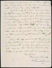 Letter to] Dear Br. Phelps [manuscript
