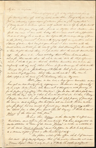Letter from James C. Jackson, Peterboro, [New York], to Maria Weston Chapman, 1840 [March 25]